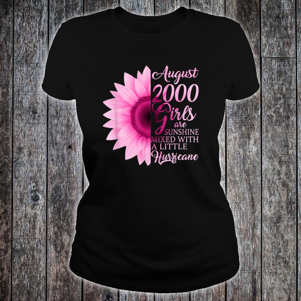 August Girls 2000 Shirt 19th Birthday Shirt ladies tee