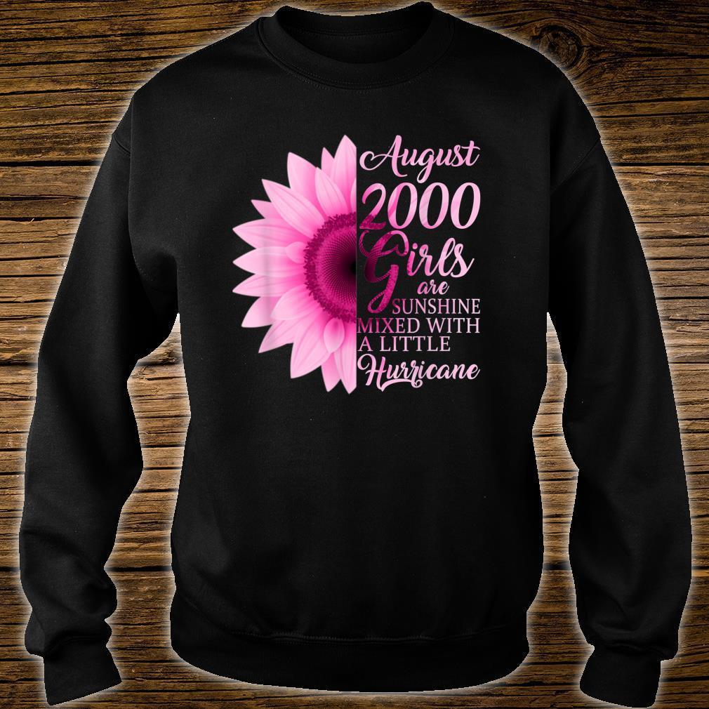 August Girls 2000 Shirt 19th Birthday Shirt sweater