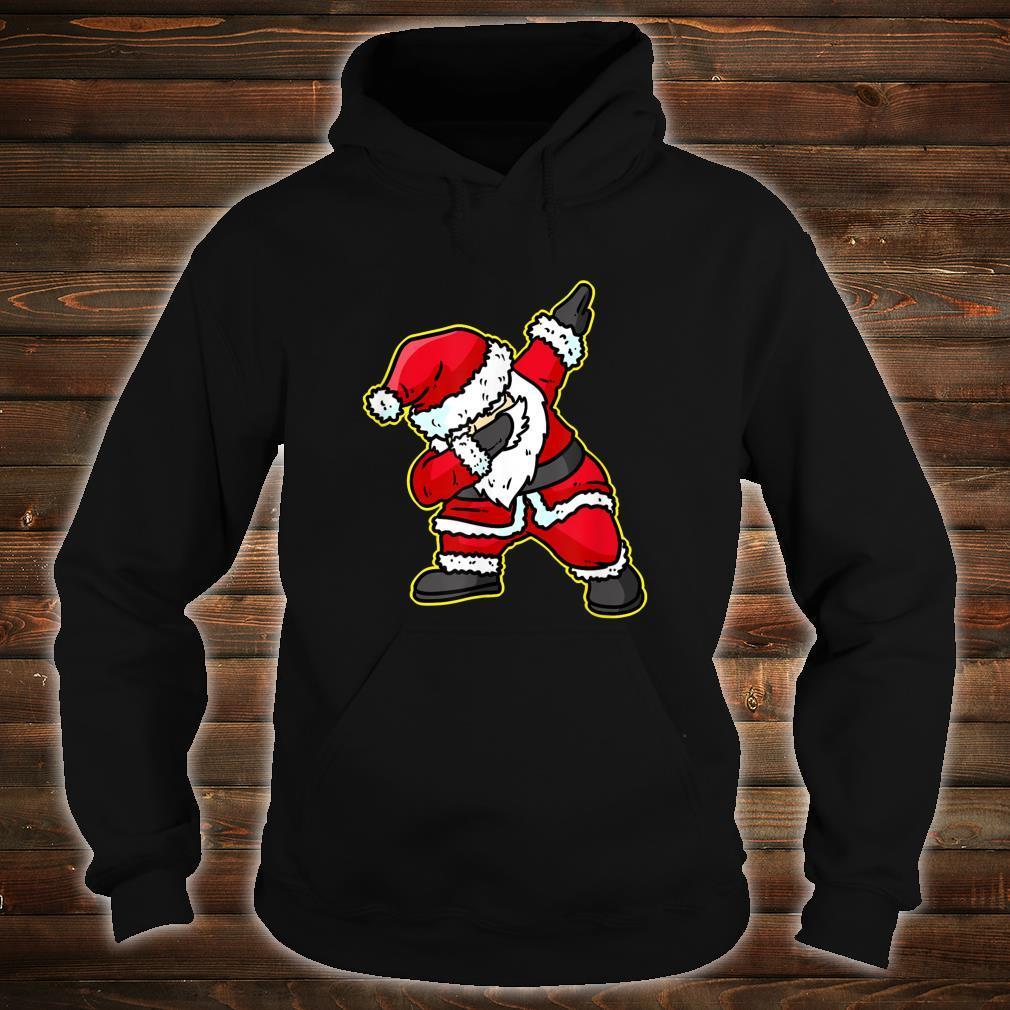 Dabbing Santa Claus Christmas Reindeer Dab Xmas Shirt hoodie
