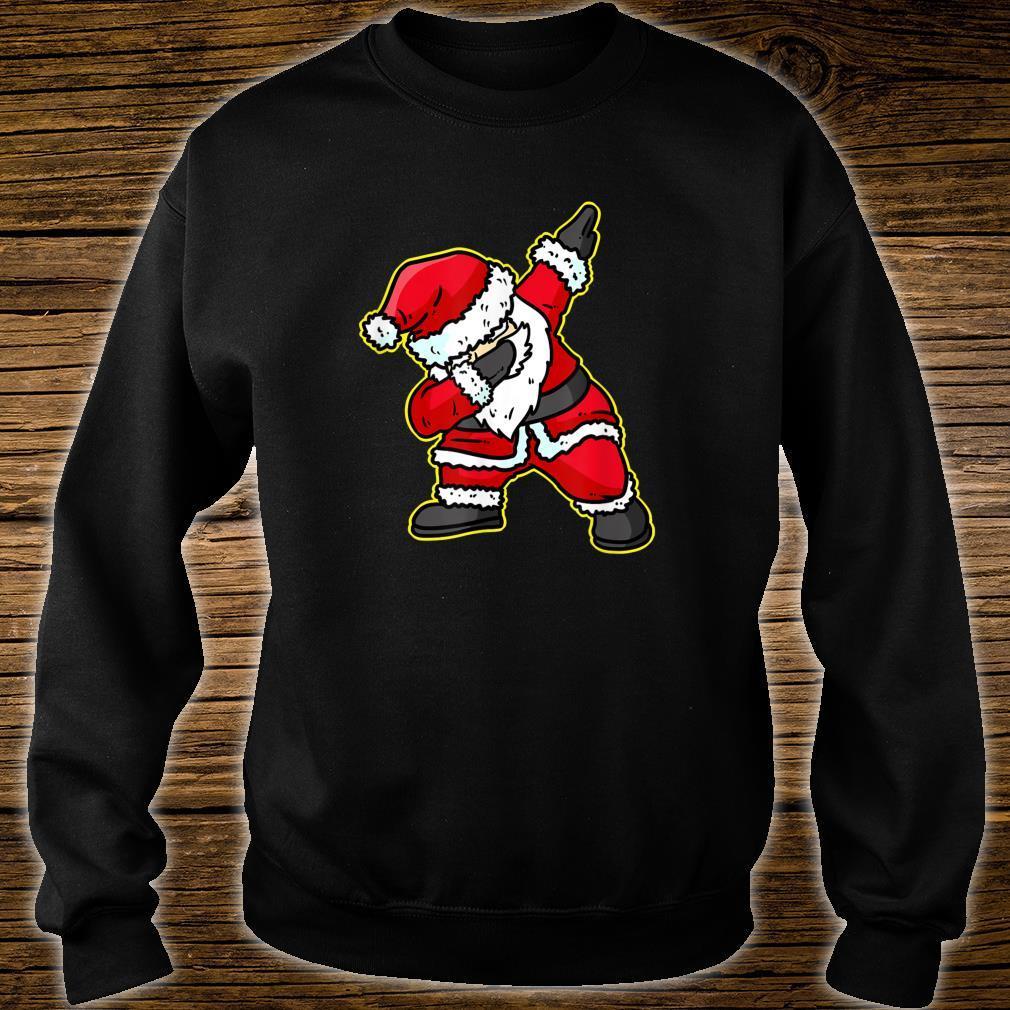 Dabbing Santa Claus Christmas Reindeer Dab Xmas Shirt sweater