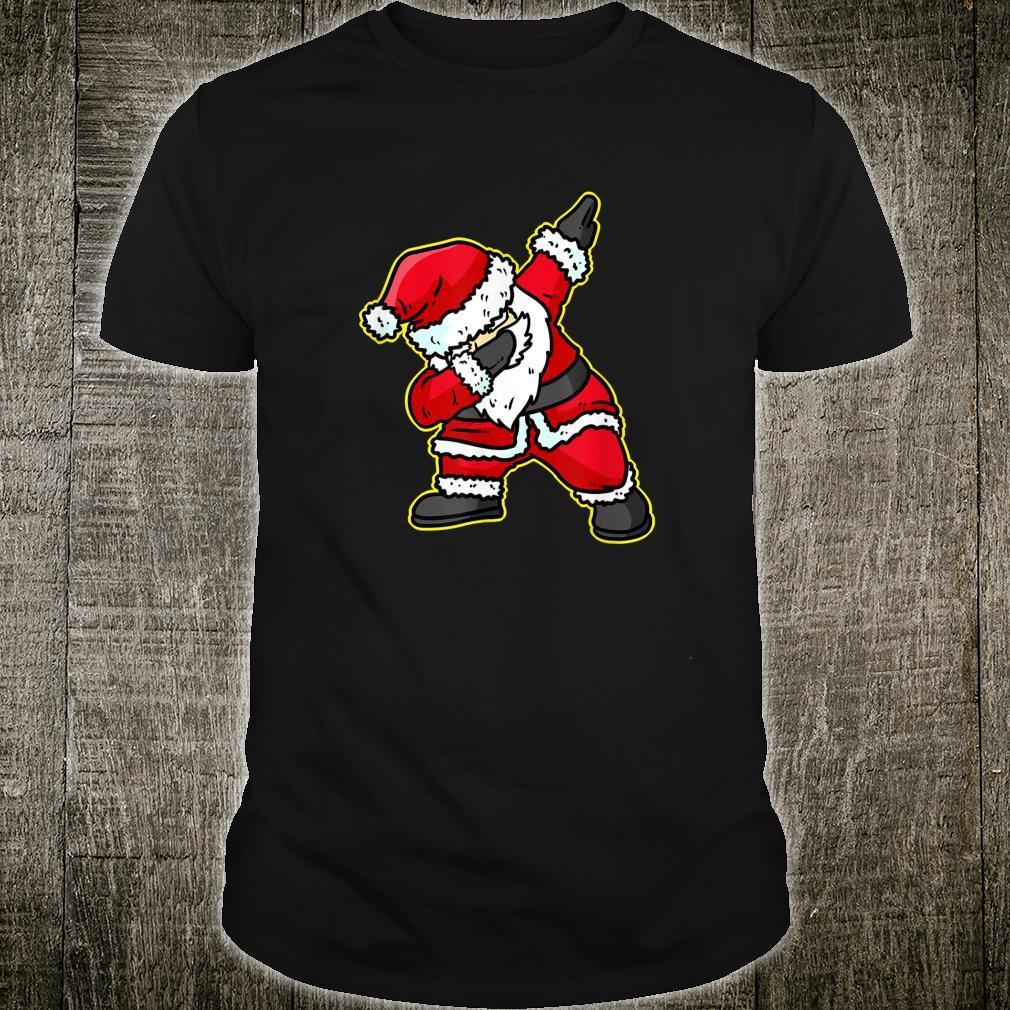 Dabbing Santa Claus Christmas Reindeer Dab Xmas Shirt