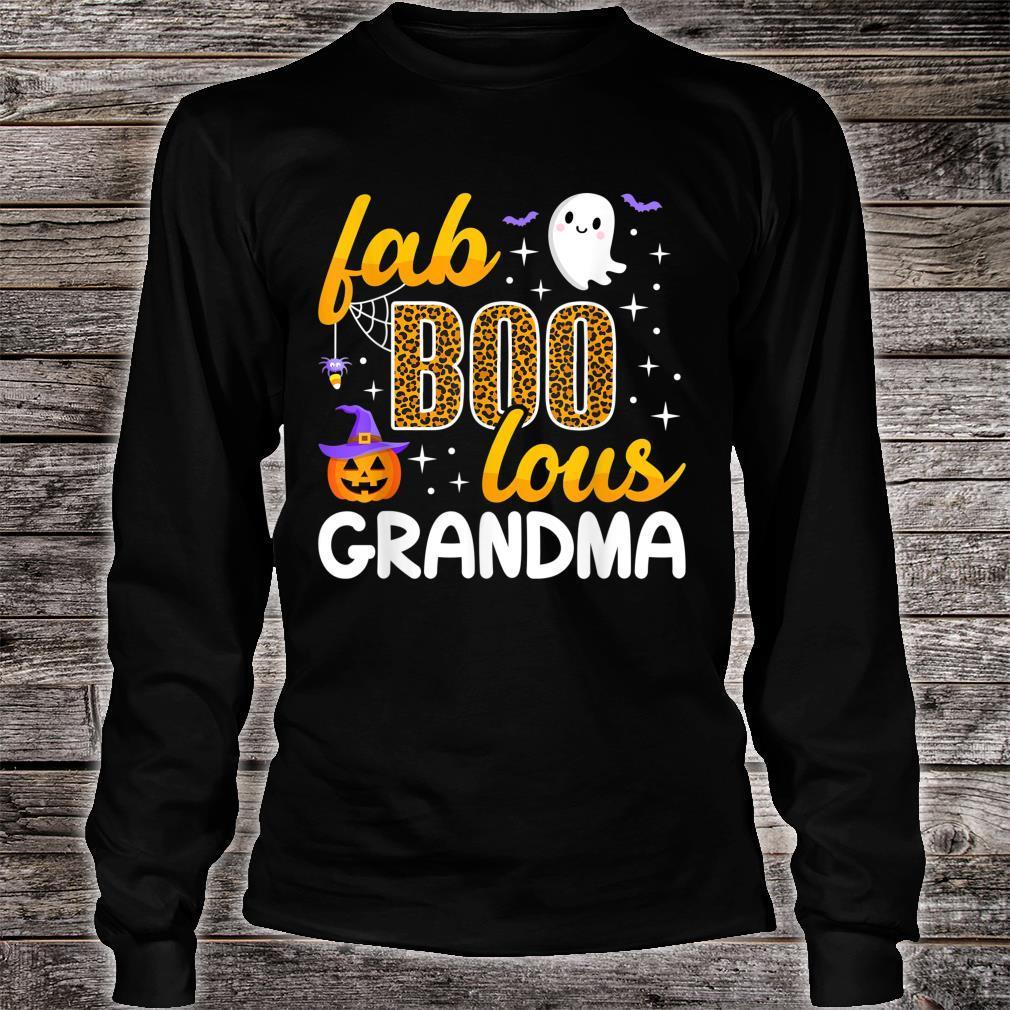 Faboolous Grandma Halloween Costume To Be Boo Love Shirt long sleeved