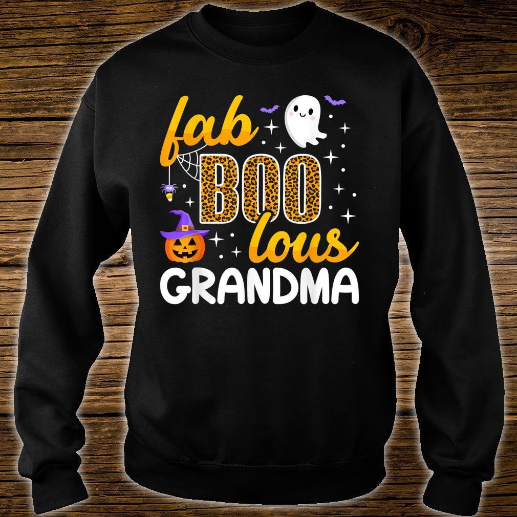 Faboolous Grandma Halloween Costume To Be Boo Love Shirt sweater