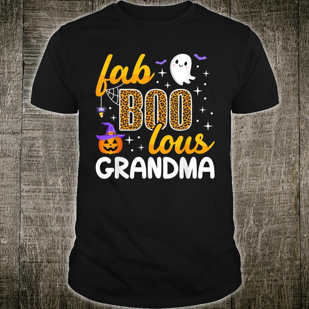 Faboolous Grandma Halloween Costume To Be Boo Love Shirt