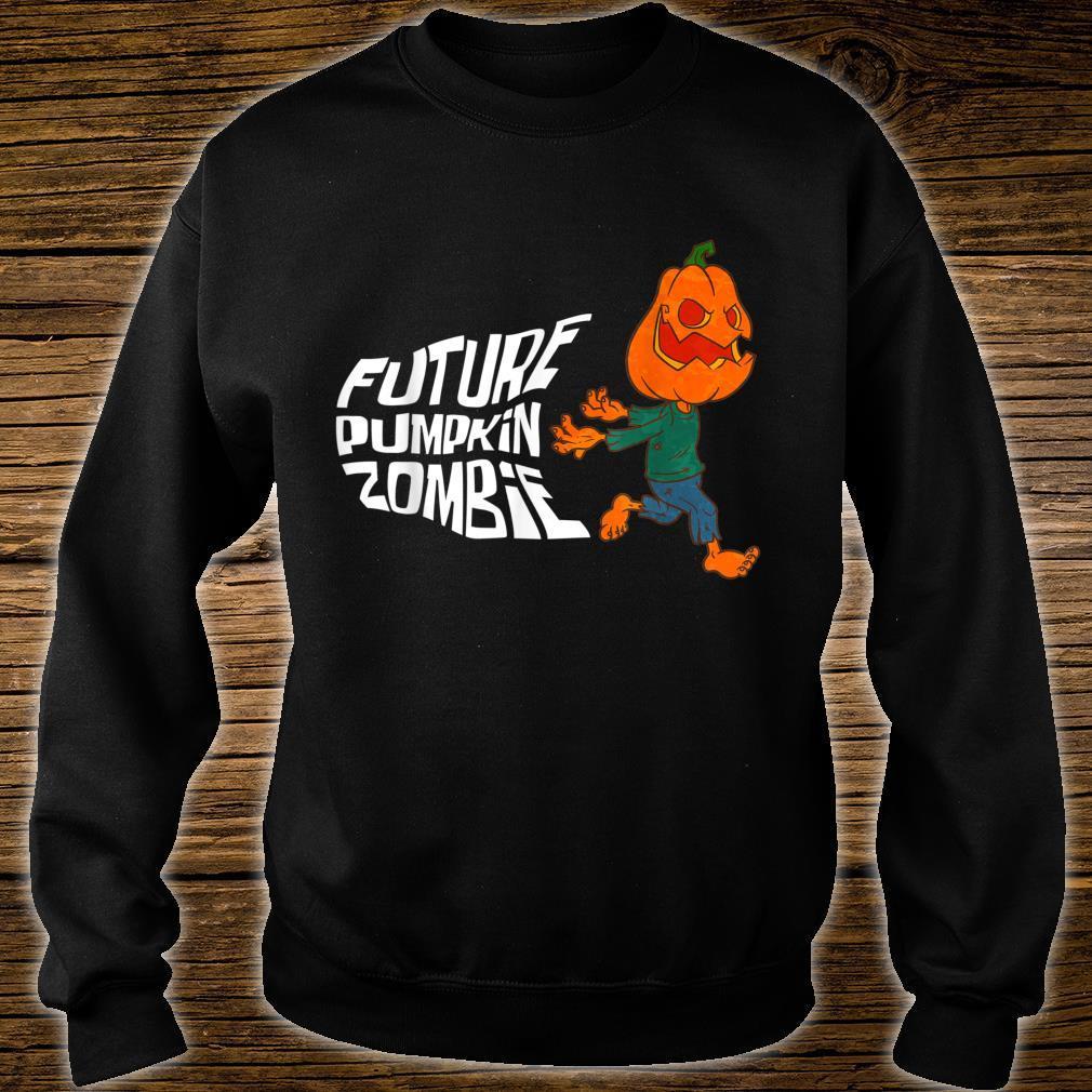 Halloween Jack O Lantern Pumpkin Future Pumpkin Zombie Shirt sweater