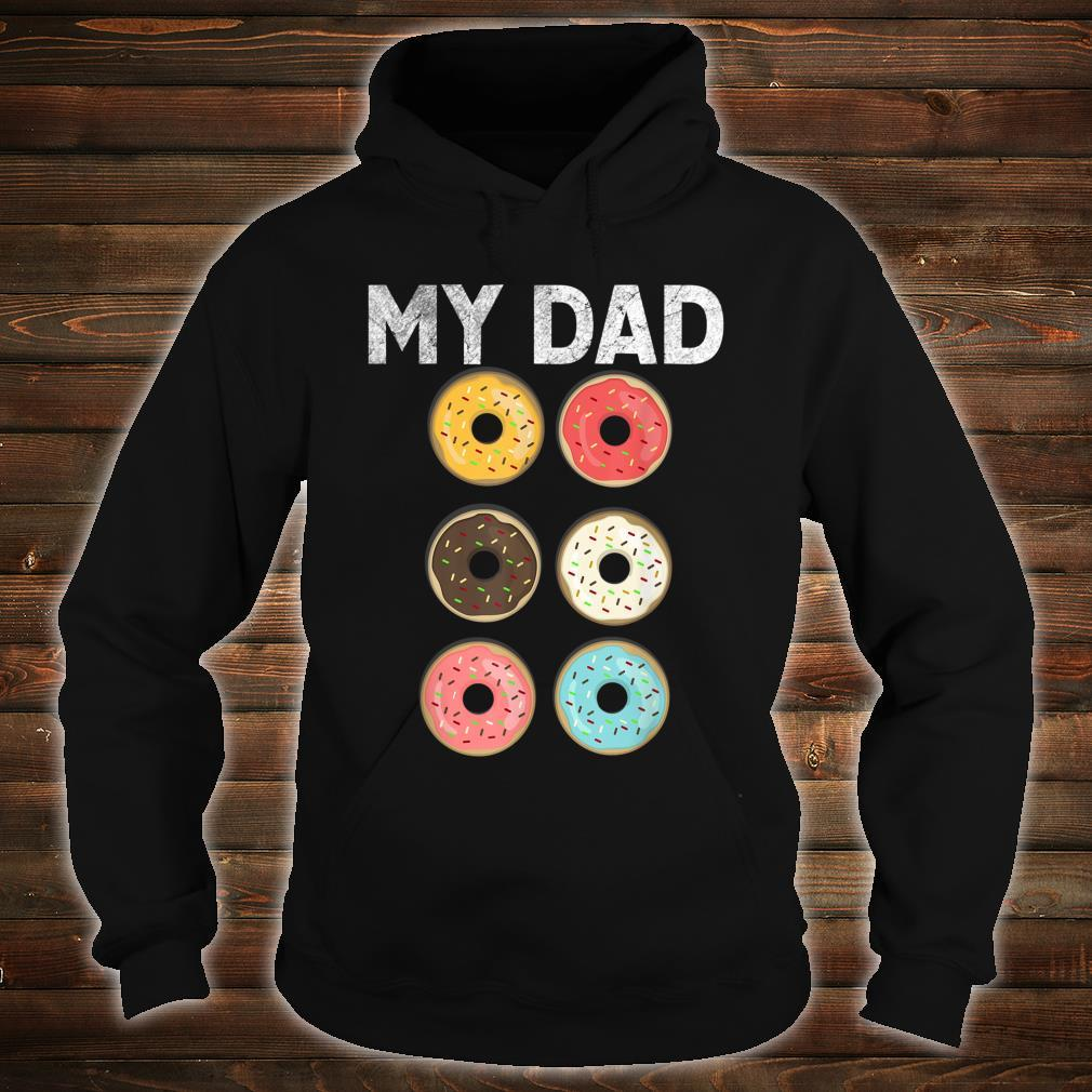 Papa Donut Gym Fitness Donuts Father Day Shirt hoodie