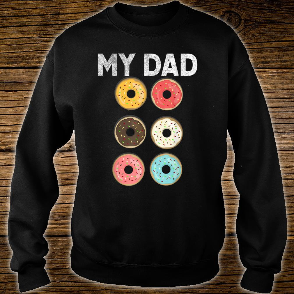 Papa Donut Gym Fitness Donuts Father Day Shirt sweater