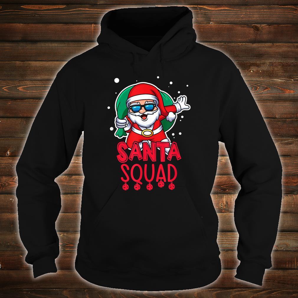 Santa Squad Christmas Vacation Saying Shirt hoodie