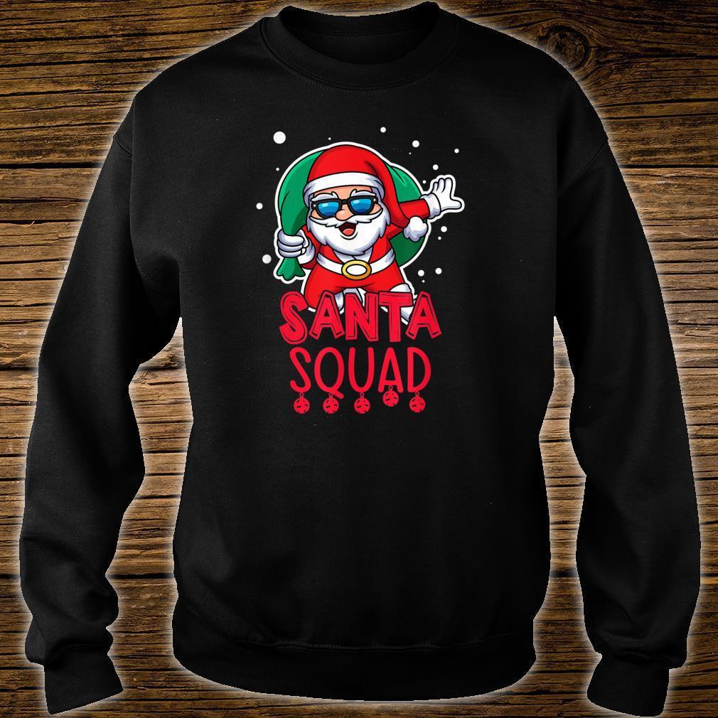 Santa Squad Christmas Vacation Saying Shirt sweater