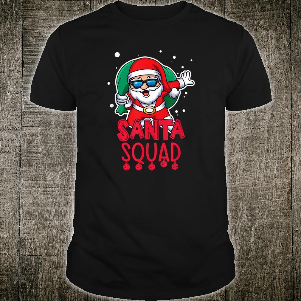 Santa Squad Christmas Vacation Saying Shirt