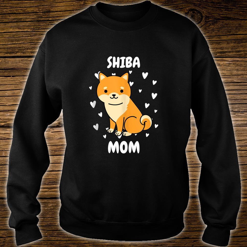 Shiba Mom Mummy Mama Mum Mommy Mother's Day Mother Shirt sweater