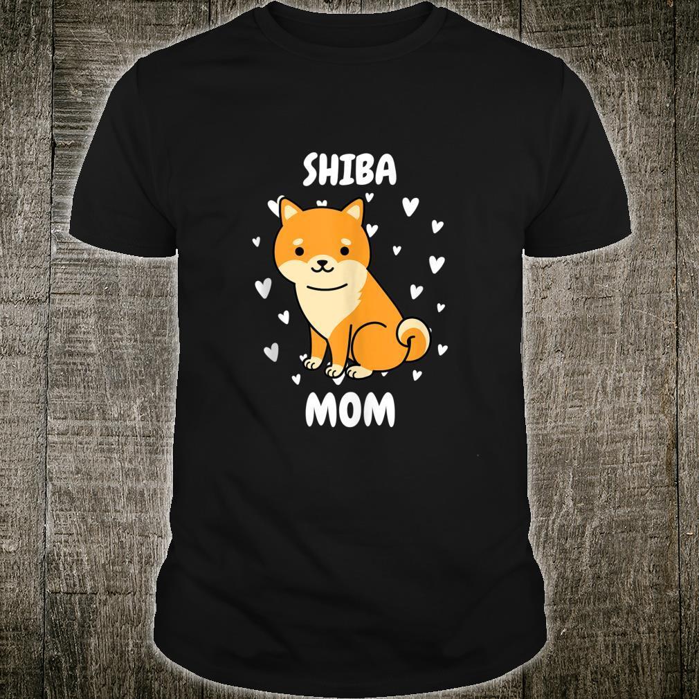 Shiba Mom Mummy Mama Mum Mommy Mother's Day Mother Shirt