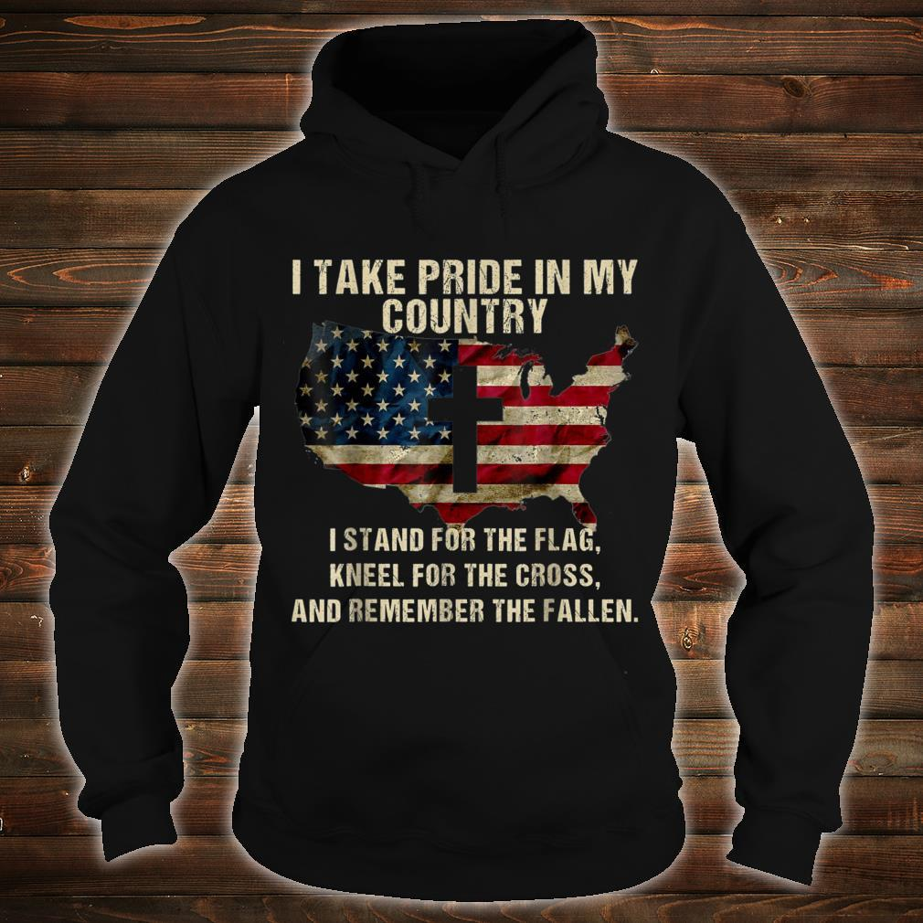 Take Pride In My Country Patriot Day 20th Shirt hoodie